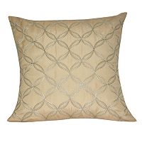 Loom and Mill Interlocking Circles Throw Pillow