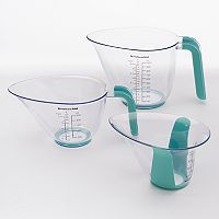 KitchenAid Aqua Sky Measuring Cup Set