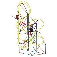 K'NEX 305-pc. Clock Work Roller Coaster Building Set