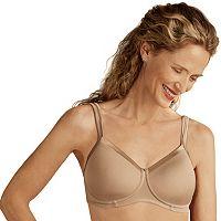 Amoena Bra: Lara Satin-Trim Soft Cup Wire-Free T-Shirt Bra 44212