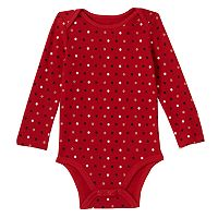 Baby Girl Jumping Beans® Glitter Thermal Bodysuit
