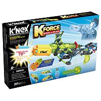 K'NEX 201-pc. K-FORCE Super Strike Rotoshot Blaster Building Set