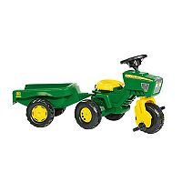 John Deere 3 Wheel Trac Ride-On with Trailer by Kettler