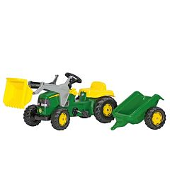 John Deere Kids' Tractor with Trailer Ride-On by Kettler by