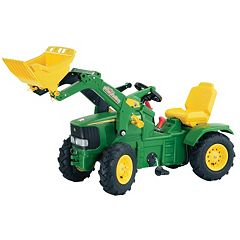 John Deere Air Tire Farm Trac Ride-On with Loader by Kettler by