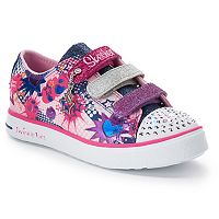 Skechers Twinkle Toes Breeze Pop-Tastic Girls' Light-Up Shoes