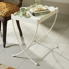 Sauder Eden Rue Scallop Edge End Table by