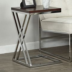 Ave Six Wall Street End Table  by