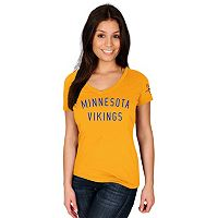 Women's Majestic Minnesota Vikings Dual Threat Tee