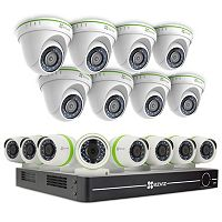 EZVIZ 16-Channel 16-Camera DVR Surveillance System