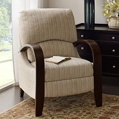 Madison Park Archdale Bent Arm Recliner Chair by
