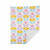 Poppi Living Flower Stroller Blanket