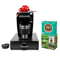 Keurig K15 Personal Brewer Holiday Bundle (Black)