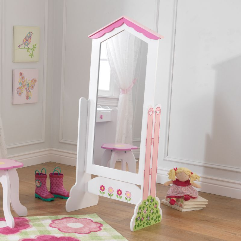 KidKraft Dollhouse Cheval Mirror, Multicolor