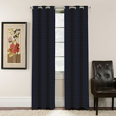 Arlee Window Accents Lynette Jacquard Blackout Window Curtain by