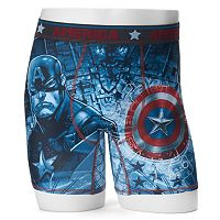 Men's Marvel Captain America Sublimated Boxer Briefs