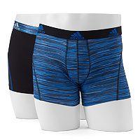 Men's adidas Climalite Performance 2-Pack Boxer Briefs