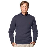 Big & Tall Chaps Classic-Fit Crew Sweater
