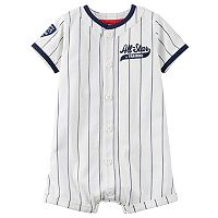 Baby Boy Carter's Striped All-Star Romper