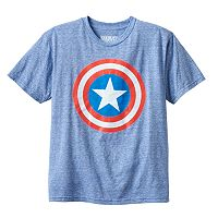Boys 8-20 Marvel Captain America Glow-in-the-Dark Tee