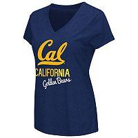 Women's Campus Heritage Cal Golden Bears V-Neck Tee
