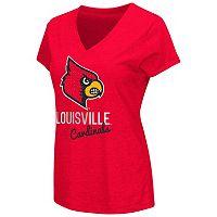 Women's Campus Heritage Louisville Cardinals V-Neck Tee