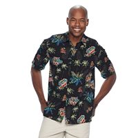 Men's Batik Bay Tropical Casual Button-Down Shirt