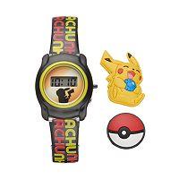 Pokémon Pikachu Kids' Digital Charm Watch