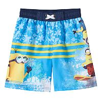 Boys 4-7 Despicable Me Minion Swim Trunks