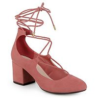Journee Collection Ferah Women's Lace-Up High Heels