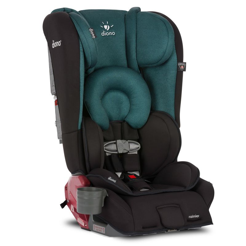 Diono Rainier Convertible Booster Car Seat, Black