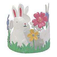 SONOMA Goods for Life™ Bunny Flower Garden Candle Holder Sleeve