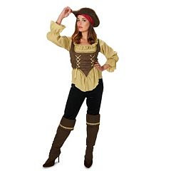 Adult Runaway Pirate Queen Costume by
