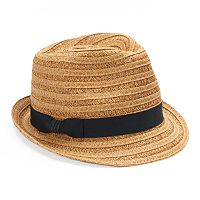 Women's SONOMA Goods for Life™ Textured Grosgrain Ribbon Fedora