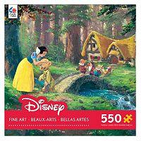 Disney's Snow White & The Seven Dwarfs Fine Art 550-pc. A Sweet Goodbye Puzzle by Ceaco
