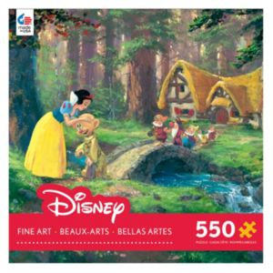 Disney's Snow White & The Seven Dwarfs Fine Art 550-pc. A Sweet Goodbye Puzzle by Ceaco