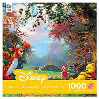 Disney's Winnie The Pooh Fine Art 1000-pc. Pooh's Afternoon Nap Puzzle by Ceaco