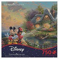 Disney's Mickey & Minnie Mouse 750-pc. Thomas Kinkade Puzzle by Ceaco