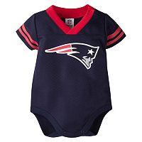 Baby New EnglandPatriots Dazzle Bodysuit
