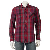Men's Zoo York Plaid Button-Down Shirt