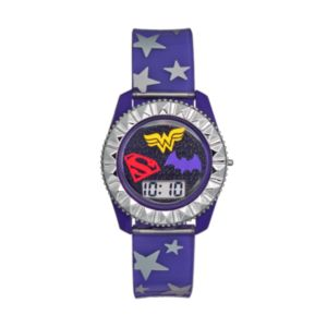 DC Comics Supergirl, Wonder Woman & Batgirl Kids' Digital Watch