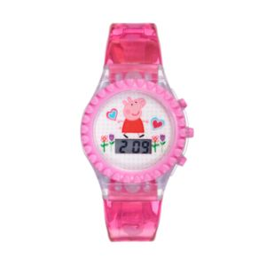 Peppa Pig Kids' Digital Light-Up Watch