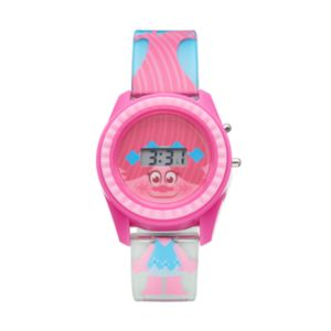 Dreamworks Trolls Poppy Kids' Digital Light-Up Watch