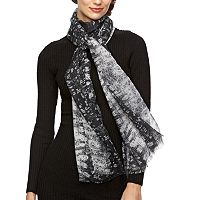 REED Tejus Lizard Oblong Scarf