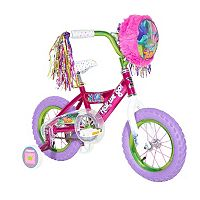 Kids DreamWorks Trolls 12-Inch Tire Bike with Training Wheels