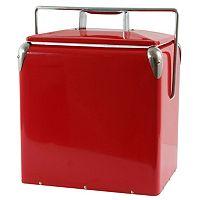AmeriHome Retro Style Picnic Cooler