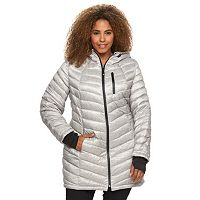 Plus Size Halitech Hooded Down Packable Jacket