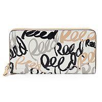 REED Long Zipper Wallet