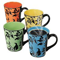 Mr. Coffee Laurel 4-pc. Coffee Mug Set