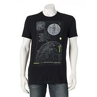 Men's Rogue One: A Star Wars Story Death Star Schematic Tee
